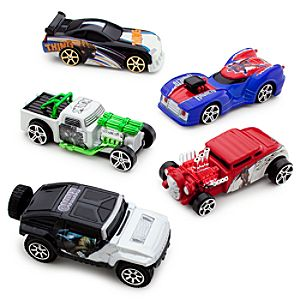 Marvel Universe Die Cast Car Set #5 -- 5-Pc.