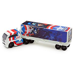 Marvel Universe Die Cast Mini Hauler -- Captain America
