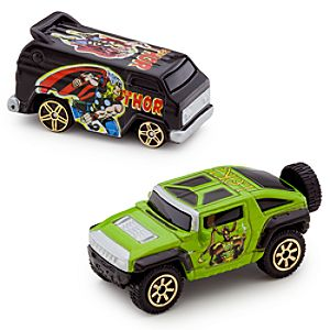 Marvel Universe Thor Vs. Loki Die Cast Car Set -- 2-Pc.