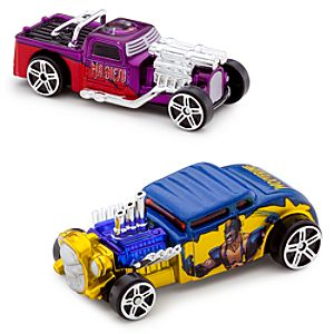 Marvel Universe Wolverine Vs. Magneto Die Cast Car Set -- 2-Pc.