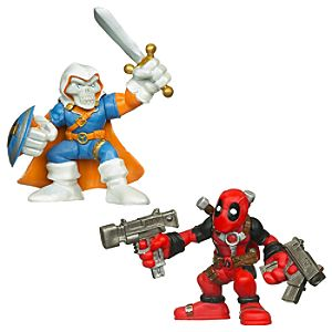 Marvel Super Hero Squad -- Taskmaster and Deadpool Action Figures