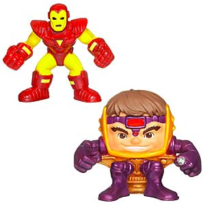 Marvel Super Hero Squad -- Iron Man and M.O.D.O.K. Action Figures