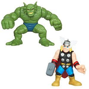 Marvel Super Hero Squad -- Abomination and Thor Action Figures
