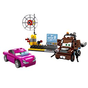 Maters Spy Zone Cars 2 Lego Play Set