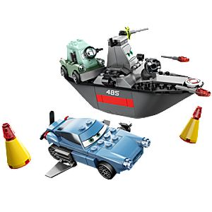 Escape at Sea Cars 2 Lego Play Set