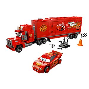 Macks Team Truck Cars 2 Lego Play Set