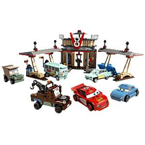 Flos V8 Café Cars 2 Lego Play Set