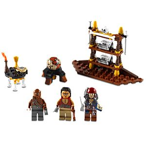 The Captains Cabin Pirates of the Caribbean Lego Play Set