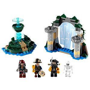 Fountain of Youth Pirates of the Caribbean Lego Play Set