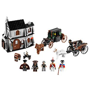 The London Escape Pirates of the Caribbean Lego Play Set