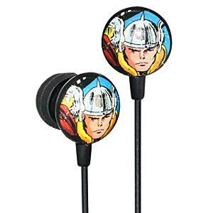 Earbud Style Marvel Comics Thor Headphones