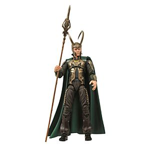 Marvel Select Thor Movie Loki Action Figure -- 7 H