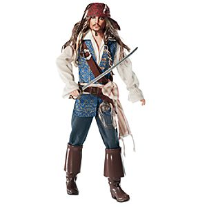 Barbie Pirates of The Caribbean: On Stranger Tides Captain Jack Sparrow Doll -- 13 H