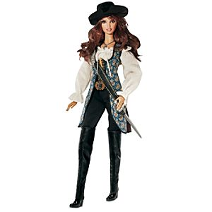 Barbie Pirates of The Caribbean: On Stranger Tides Angelica Doll -- 13 H