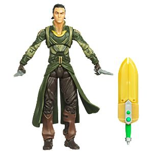 Secret Strike Loki: Thor Action Figure -- 3 3/4 H