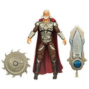 Shield Bash Marvels Odin: Thor Action Figure -- 3 3/4 H