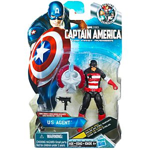 US Agent Captain America Action Figure -- 3 3/4 H