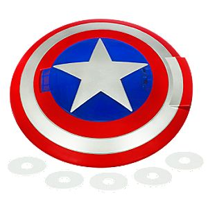 Captain America Disc Launching Shield
