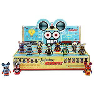 Vinylmation Robots Series Figures - 3 - Tray of 24-Pc.