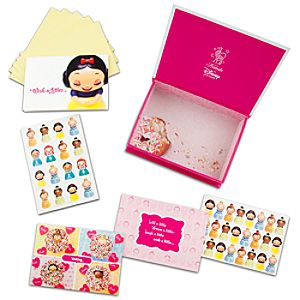 Kidada for Disney Store Wish-a-Littles Notecards