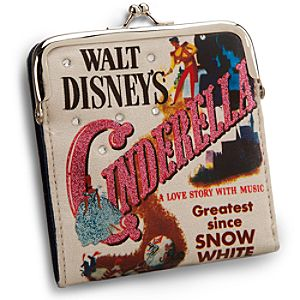 Classic Cinderella Wallet with Coin Purse