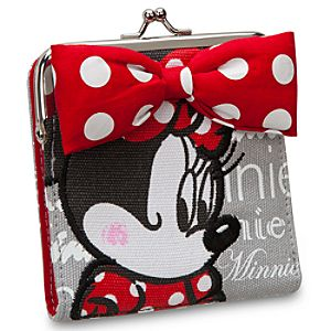 Minnie Mouse Wallet with Coinpurse