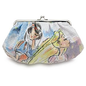 Romantic Princess Sequined Kisslock Purse