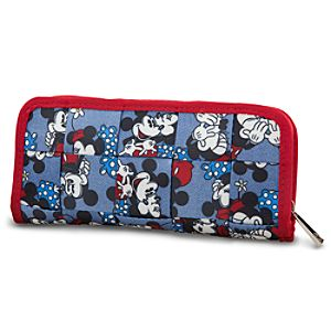 Classic Minnie and Mickey Mouse Wallet by Harveys