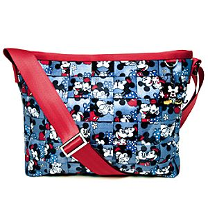 Classic Minnie and Mickey Mouse Messenger Bag by Harveys