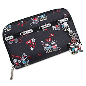 Mickey and Minnie Mouse Wallet by LeSportsac