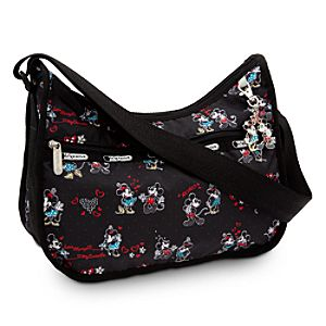 Mickey and Minnie Mouse Hobo Bag by LeSportsac