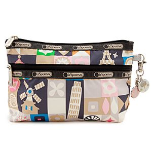 ''it's a small world'' Clutch by LeSportsac - ''Global Journey''