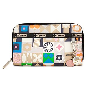 ''it's a small world'' Lily Wallet by LeSportsac - ''Global Journey''