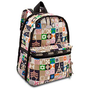 ''it's a small world'' Backpack by LeSportsac - ''Global Journey''
