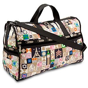 ''it's a small world'' Weekender Bag by LeSportsac - ''Global Journey''