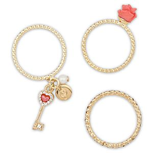 Belle Ring Set - Disney Fairytale Designer Collection