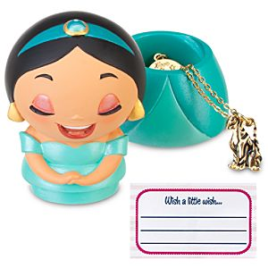 Kidada for Disney Store Wish-a-Little Jasmine Figure with Charm Necklace
