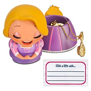 Kidada for Disney Store Wish-a-Little Rapunzel Figure with Charm Necklace