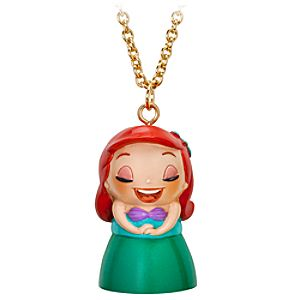 Kidada for Disney Store Wish-a-Little Ariel Necklace