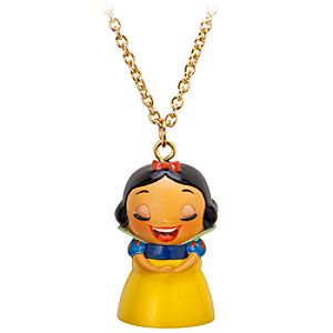 Kidada for Disney Store Wish-a-Little Snow White Necklace