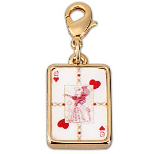 Kidada for Disney Store Alice in Wonderland Queen of Hearts Charm