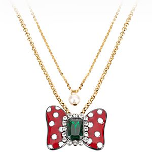 Double Chain Minnie Mouse Necklace by Disney Couture