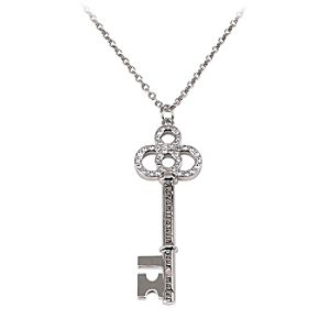 Cinderella Key Necklace for Women by Disney Couture