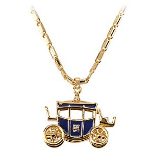 Cinderella Carriage Necklace for Women by Disney Couture