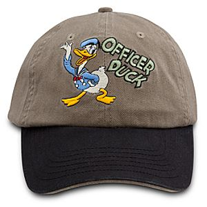 Officer Duck Donald Duck Baseball Cap for Adults