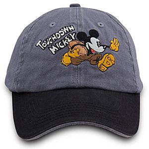 Touchdown Mickey Mickey Mouse Baseball Cap for Adults