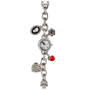 Snow White Charm Bracelet Watch