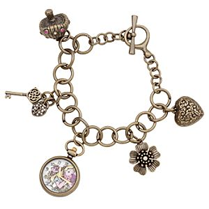 Alice in Wonderland Charm Bracelet Watch