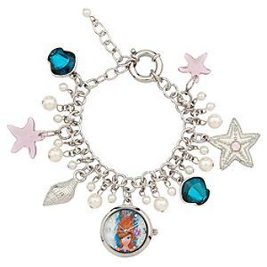 The Art of Ariel Charm Bracelet Watch - D23