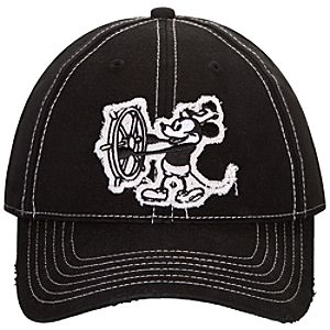 Steamboat Willie Mickey Mouse Baseball Cap for Adults